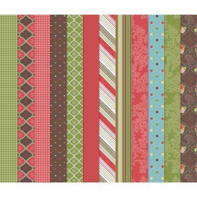 Stampin' Up! Holiday Treasures II Digital Designer Paper