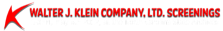 Walter J. Klein Company Screenings