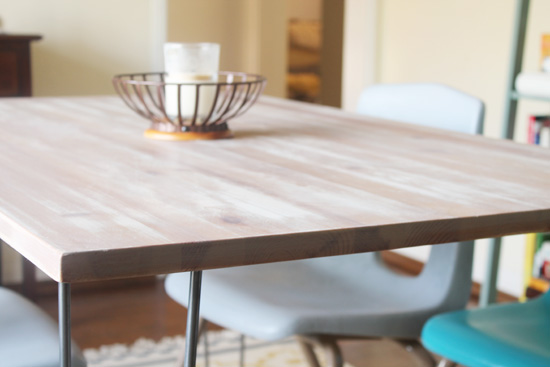 Acute Designs: Ikea Hack - Dining Room Table