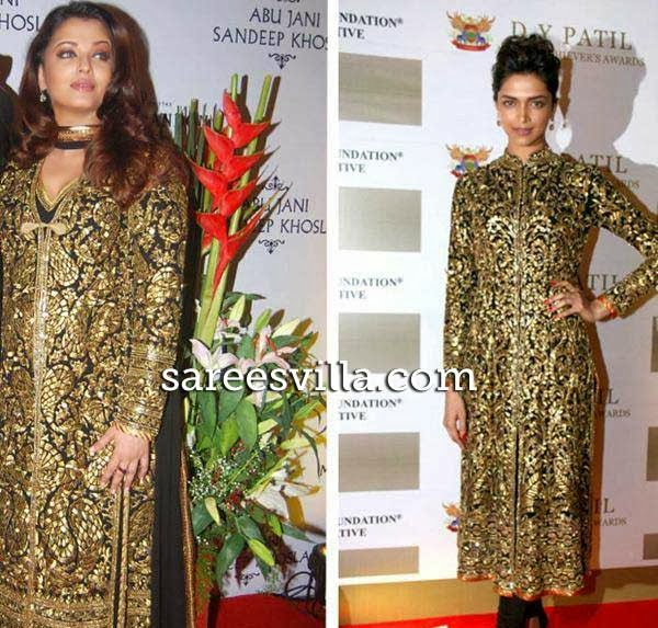 Deepika Padukone and Aishwarya Rai in same dress