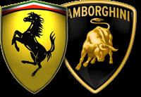 lamborghini logo vs ferrari logo