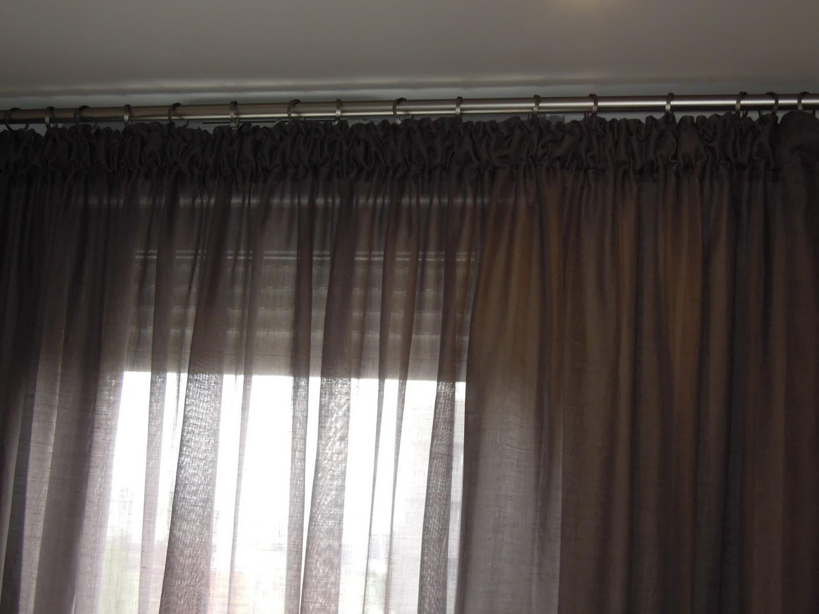 Fotos de cortinas como elegir unas cortinas aqu os ense o distintos modelos para saber - Tipos de cintas para cortinas ...