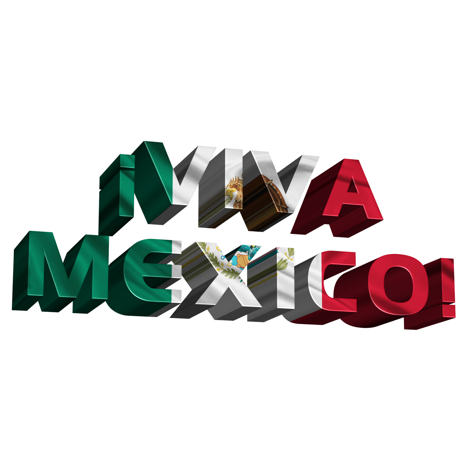 Mexico Mexican Flag Font