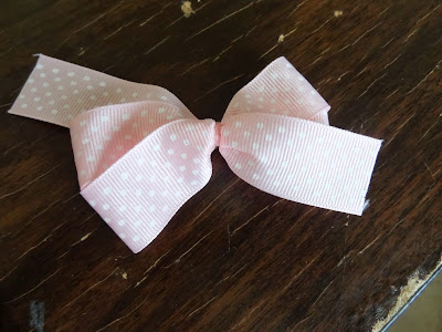 The Perfect Hair Bow Tutorial at GYCT