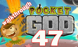 Pocket God Ep 47 Apocalypse Ow walkthrough