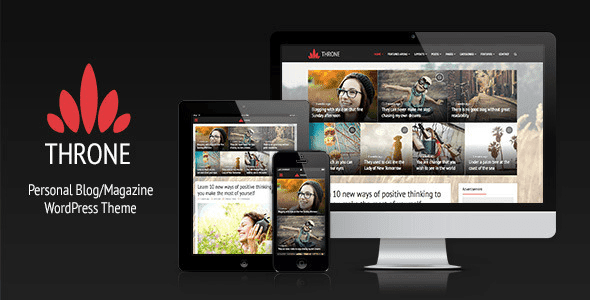 Throne wordpress theme