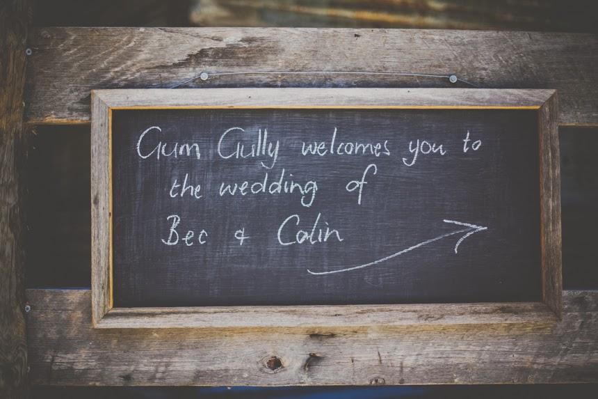 gum gully wedding