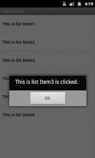 Selected ListView'Item