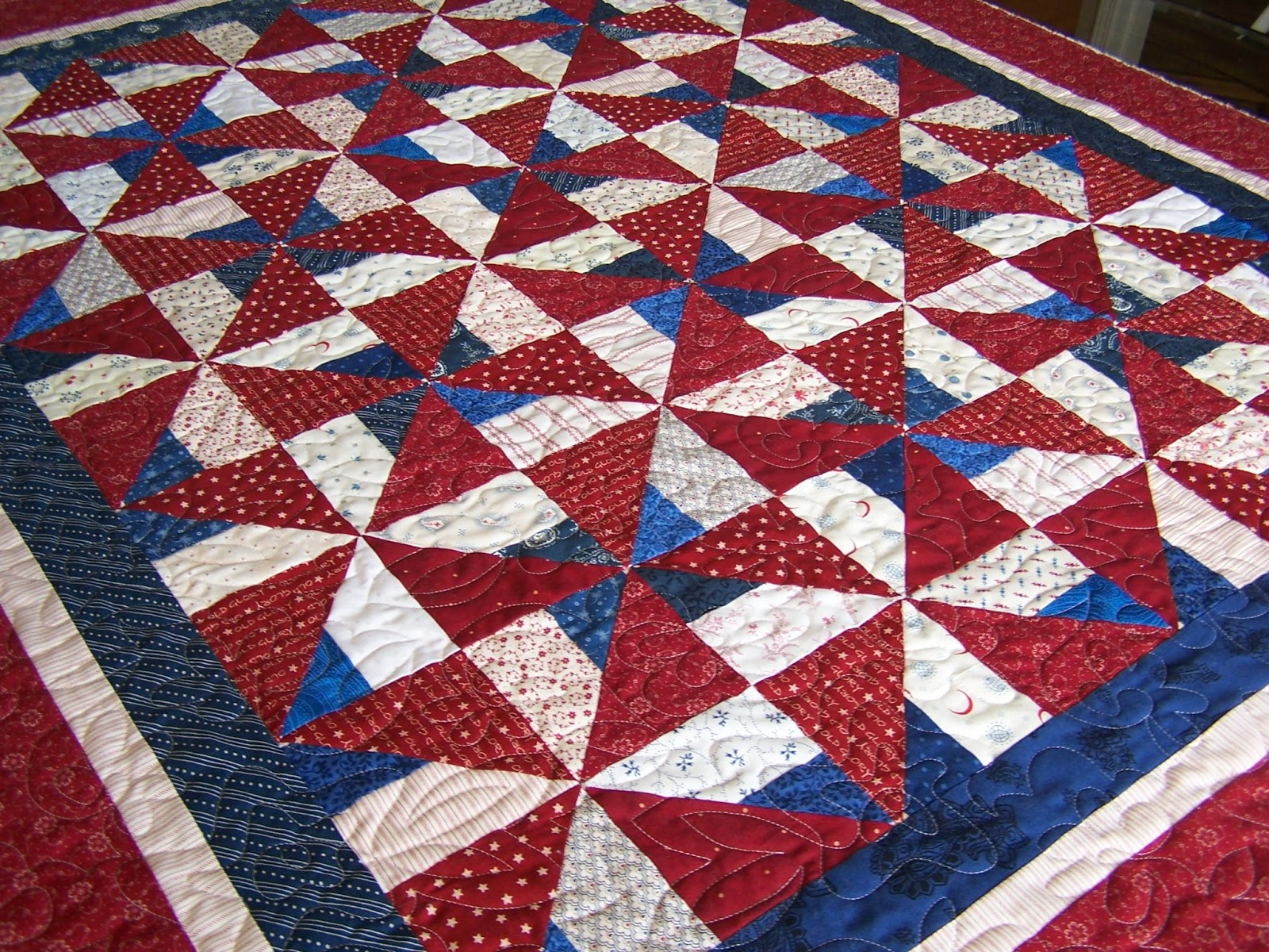 Missouri quilt co chopped block quilt pattern by the for Front door quilt pattern