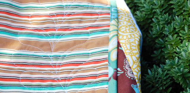 Quilt made with Fandango by Kate Spain for Moda Fabrics