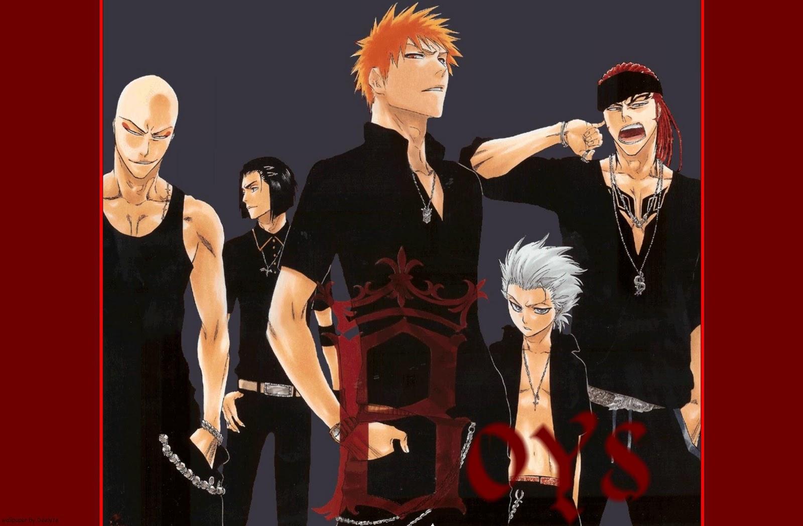 Free Wallpapers: Anime boys Wallpaper