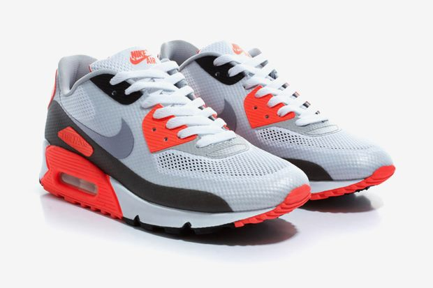 kultura podw243rka nike air max 90 hyperfuse �infrared�