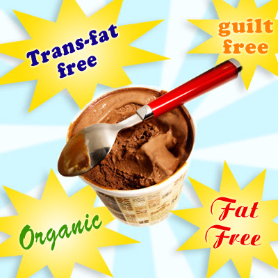 Food Myth: Fat free food is calorie free