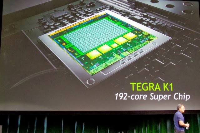 Nvidia announces next-generation 64-bit Tegra K1 SoC with 192 GPU cores