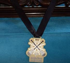 Mestre Tabosa em diversas participações nos Campeonatos de Canoagem