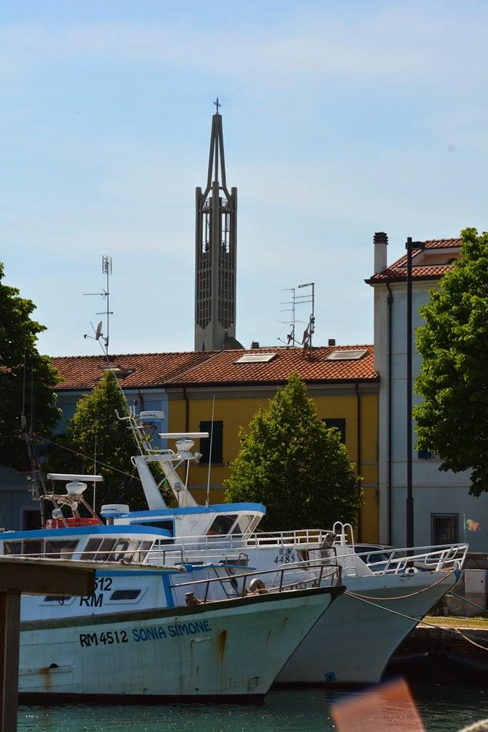 Fisher's port Rimini church