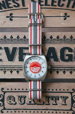 vintage soda watch acier bat juice