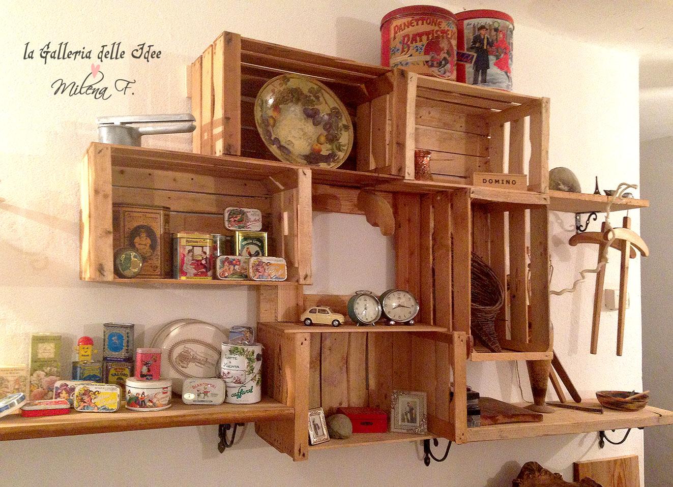 La galleria delle idee maggio 2014 - Mobili con bancali di legno ...