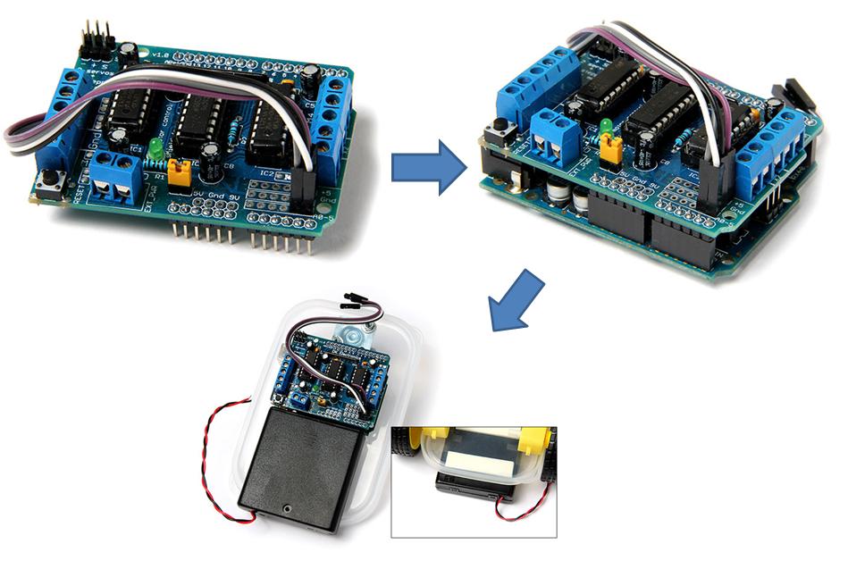 Cara Membuat Robot Line Follower Sederhana