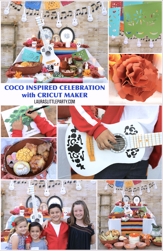 How to throw a Pixar COCO-inspired party with Cricut