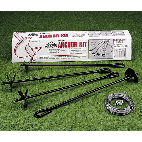 Auger Anchors For Carports : Auger tie downs tool image
