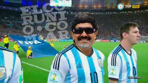 Maradona, Diego, el diez, mano de dios, doble, Messi, Maradona vuelve a la seleccion