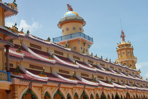 Roof of Cao Đài temple
