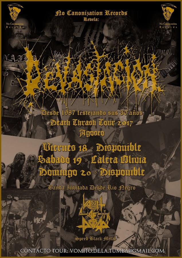 Devastacion Death Thrash Tour 2017