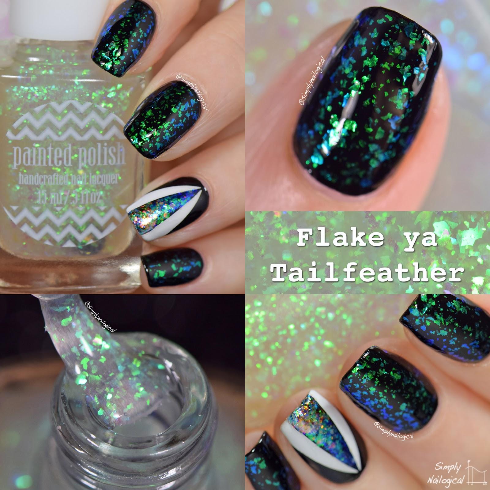 Painted Polish - Flake Ya Tailfeather