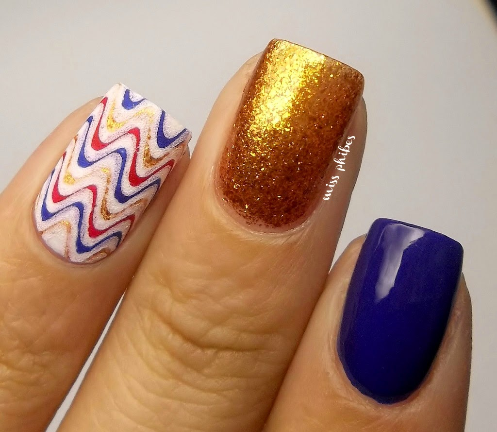 Reverse stamping nail art