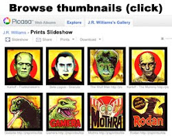 Browse available prints via Google/Picasa photo albums