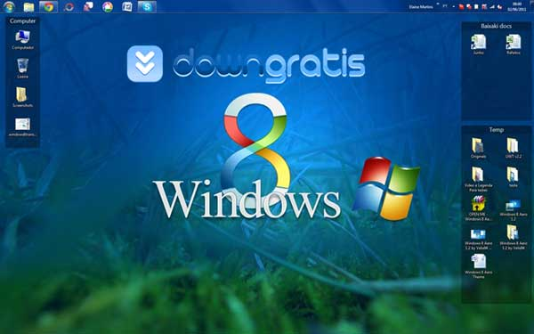 Tema para Windows 8