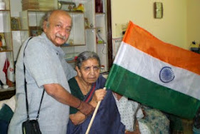 Independence Day At Old Age Home(Omashram)