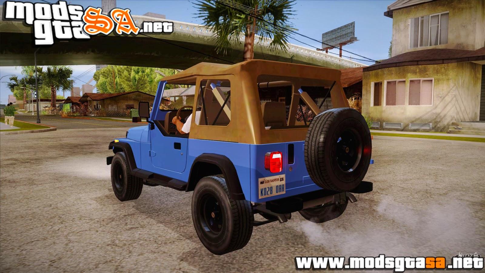 SA - Jeep Wrangler V10 TT Black Revel