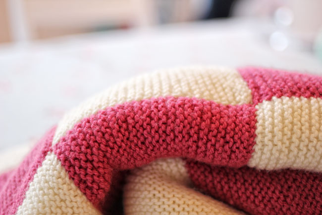 Knitting Pattern For A Patchwork Blanket : TUTORIAL Beginners Patchwork Blanket Project