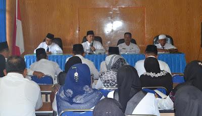 Rapat Persiapan Peresmian Kantor KUA dan Apel Siaga Madrasah Anti Narkoba