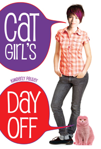 "Book cover: ""Cat Girl's Day Off"" by Kimberly Pauley"