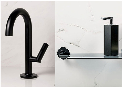 Bathroom Faucets Black Finish simplifying remodeling: 2012 kitchen & bath industry show highlights