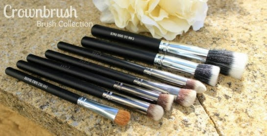 Crownbrush UK, Great brushes, makeup brushes