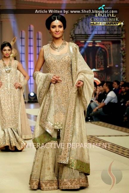 Aisha Imran Bridal Suits at TBCW-2014 by Hum Network