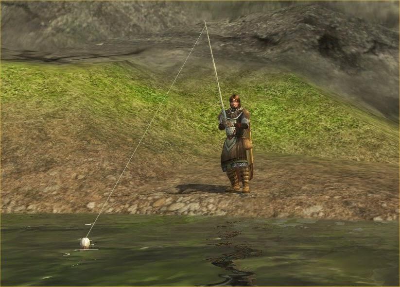 Fishing in MMORPGs