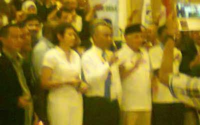 Hatta Rajasa & DPP LPM di Twin Hotel Jkt 7/6/14