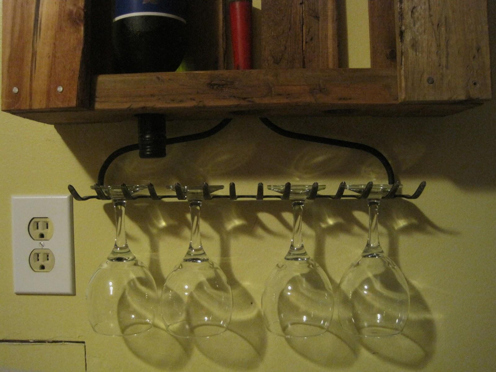 pallet wine glass rack. Pallet Wine Rack Glass