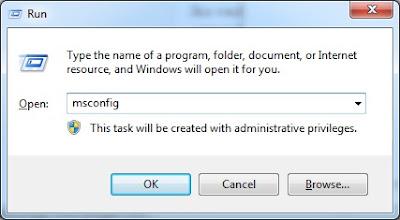 Cara disable aplikasi yang tidak dibutuhkan saat startup windows