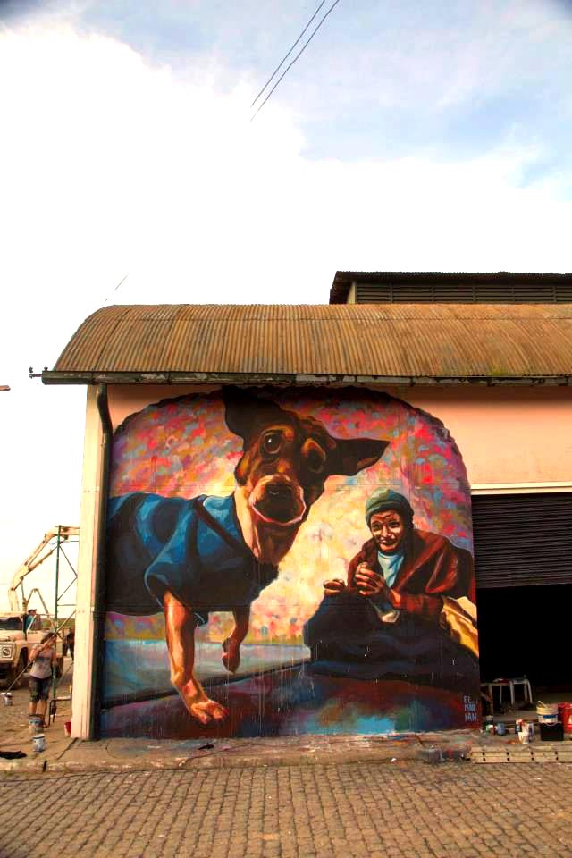 El marian new mural in baradero argentina streetartnews for El mural pelicula argentina
