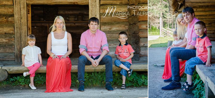perefoto-fotograafiga õues