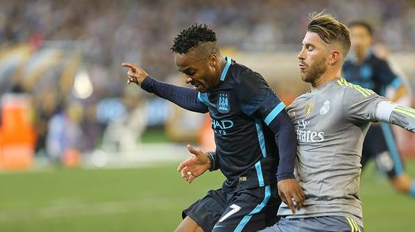 Pertandingan Real Madrid vs Manchester City - MCFC