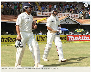 Sachin-Tendulkar-Virat-Kohli-enter-the-field-IND-vs-AUS-1st-Test
