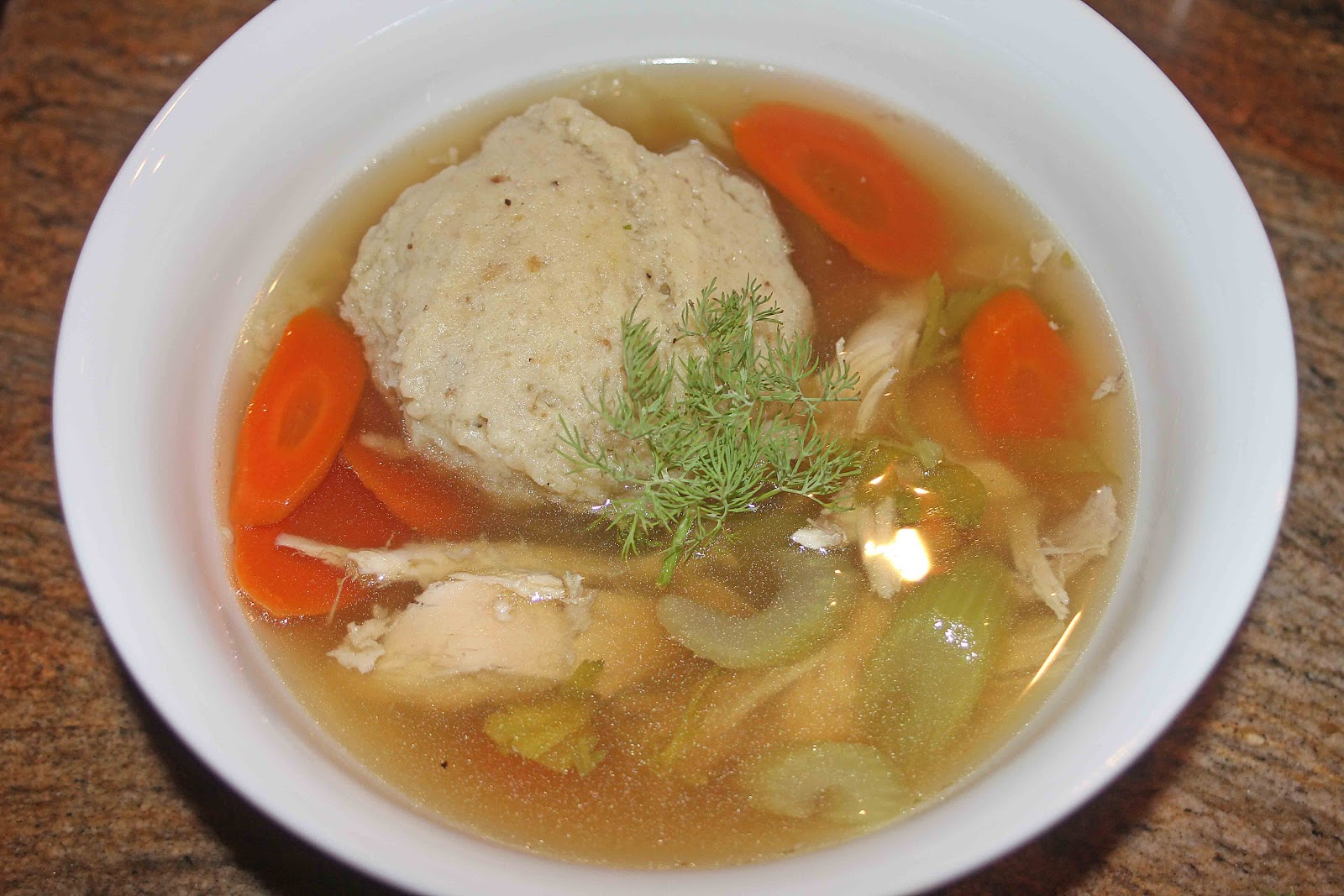 The Grub Files: Cooking with Camissonia: Matzo Ball Soup