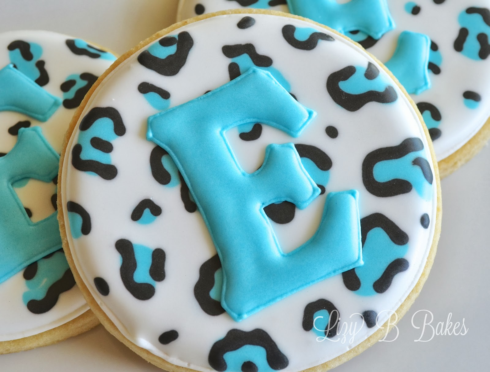 Baby Shower Cookie Images ~ Lizy b jungle safari baby shower cookies